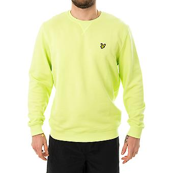 Sweat-shirt homme lyle & scott crew neck sweatshirt ml424vtr.z913