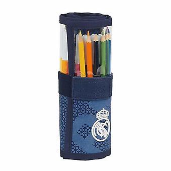 Lyijykynäkotelo Real Madrid C.F. Roll-up Blue (27 kpl)