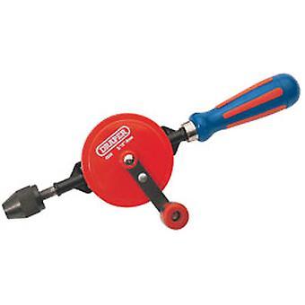 Draper 13838 8mm 5/16in Chuck Double Pinion Hand Drill