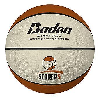 Baden Basketball Scorer Sisä/Ulkona Deluxe Kumipallo - Koko 5