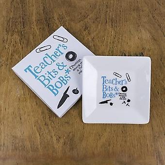 Bright Side Teacher's Bits & Bobs Ceramic Dish And Gift Box