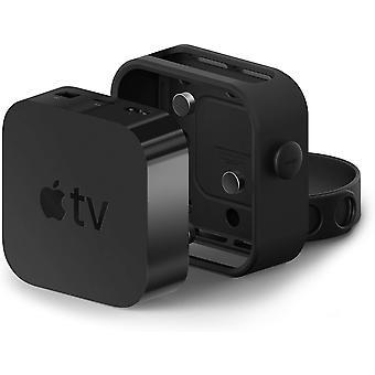 FengChun Mehrere Unterstützung für Apple TV schwarz - DREI Montageoptionen: einfache Installation