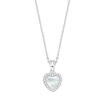 amor Necklace with women's pendant, in Sterling 925 silver, with zircons(2)