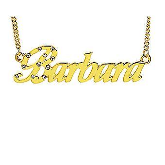 KL Barbara - 18 karan kullattu kaulakoru, säädettävä ketju 16-19 cm, lahjapakkauksessa