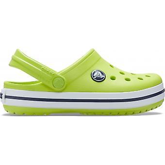 Crocs 204537 Crocband Lapset Tukkeutuminen Lime Punch