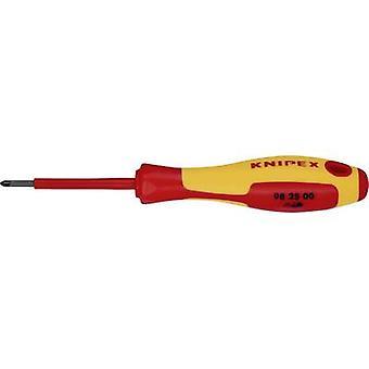 Knipex 98 25 00 VDE Pillips skruvmejsel PZ 0 Bladlängd: 60 mm DIN EN 60900