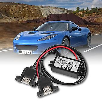 Dc Dc Converter Module 12v To 5v 3a 15w Duble Usb Output Power Adapter