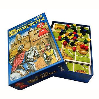 Carcassonne Board Game 2-5 Players Cards Game For Party Family Friends Easy To Play