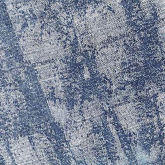 vidaXL Perhonen Nojatuoli Indigo Sininen kangas
