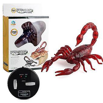 Scorpion électrique cafard infrarouge télécommande simulation induction crotale araignée animal de compagnie halloween décoration az16053
