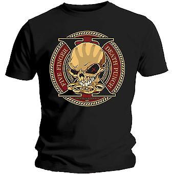 Five Finger Death Punch - Decade of Destruction Large T-Shirt Unisexe - Noir