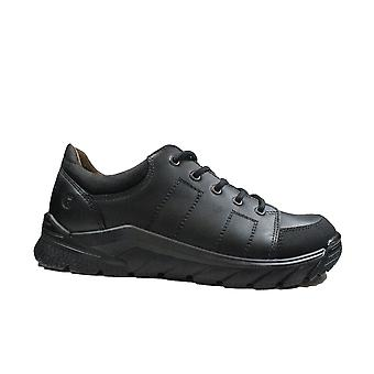 Ricosta Nate 4720700-090 Medium Fit Black Leather Boys Lace Up School Shoes