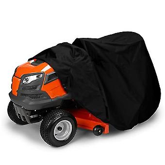 Waterproof  Lawn Mower Cover, Uv And Dust Protection Lawn Tractor Cover(140*66*91CM)