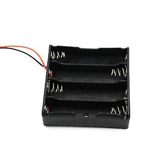 Boîtier de rangement de connecteur de support de batterie avec fil, série de câbles, parallèle