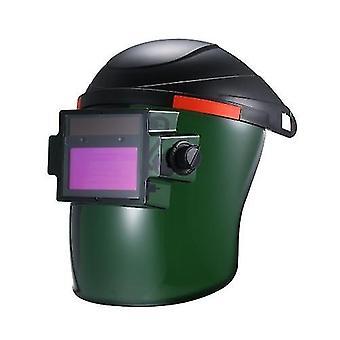 Solar Power Auto-Darkening Welding Helmet Automatic Darkening Weld Mask Shield Protection Cap With