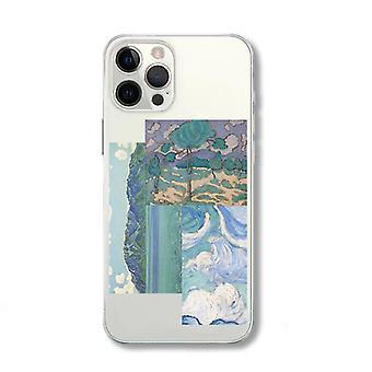 Abstrakti öljymaalaus huawei xiaomi apple vivo oneplus samsung oppo glory matkapuhelinkoteloon