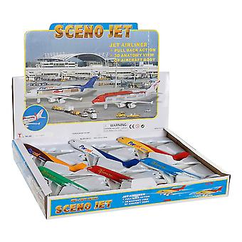 Aeroplane DKD Home Decor (6 pcs)