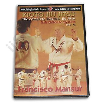 Kioto Brazilian Jiu Jitsu Defensa Personal #2 Dvd Mansur -Vd6078A