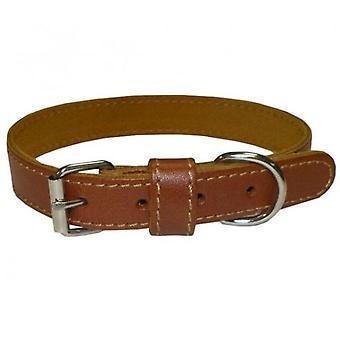 Num'axes Eco Leather Collar Coneck'T Brun