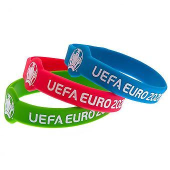 UEFA Euro 2020 Silikoni rannekkeet
