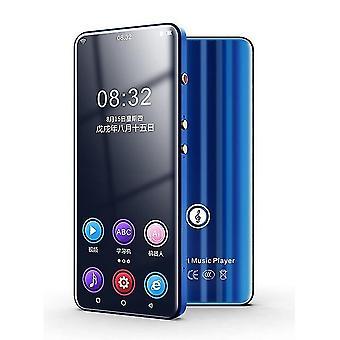 Wifi Android Bluetooth 5.0 mp3 Player mit FM, E-Book, Video Recorder (Blau)