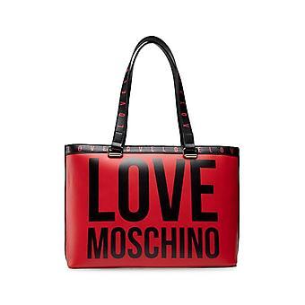 Love Moschino - Bags - Shopper - JC4180PP1DLI0-500 - Women - red,black