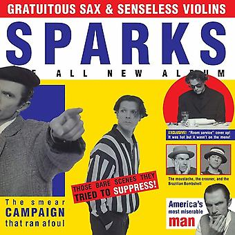 Sparks – Gratuitous Sax & Senseless Violins Vinyl