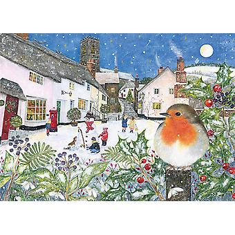 Otter House Village Robin Jigsaw Puzzle (1000 Pieces)