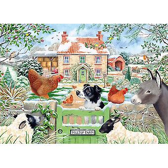 Otter House Hill Top Farm Jigsaw Puzzle (1000 Pieces)