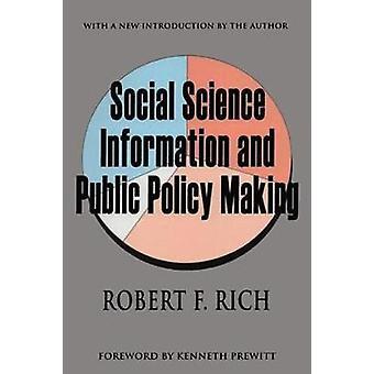 Information en sciences sociales et élaboration des politiques publiques