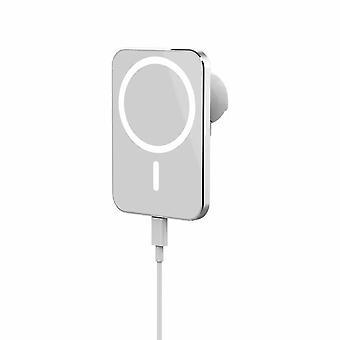15W Wireless Magnetisches Ladegerät für Iphone 12 Pro Max 12 Mini Fast Holder| Kabellose Ladegeräte (Weiß)