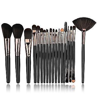 Makeup brushes 18pcs professional makeup brushes set eyebrow beauty makeup brush kit|eye shadow applicator