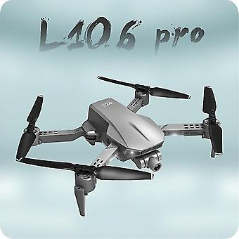 Remote control helicopters l106 pro rc drone gps 4k hd camera anti shake self stabilizing 2 axis gimbal professional aerial