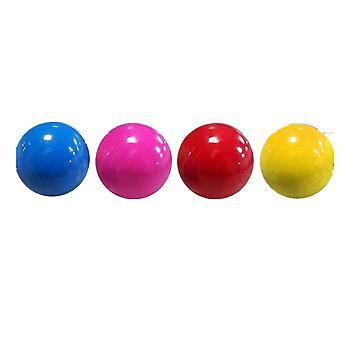 4個ティクトクストレスリリーフボール天井ルミネセントスティッキーウォールボール