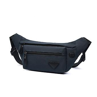 New Men's And Women's Waist Bag Lightweight Polyester Fabric One-shoulder Messenger Bag Portable Multi-color Small Bag Coin Purse