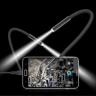 Vízálló mobiltelefon endoszkóp 15m 6 LED Usb borescope kézi kamera-p50