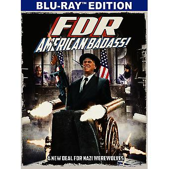 FDR: American Badass [Blu-ray] USA import