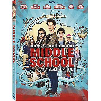 Escuela intermedia: Peores años de mi vida [DVD] USA importar