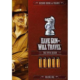 Har Gun Will Travel - har pistol vil rejse: Femte sæson bind 1 [DVD] USA importerer