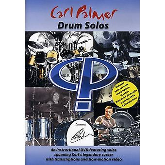 Carl Palmer - importation USA Drum Solos [DVD]