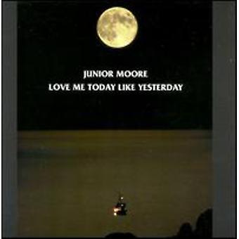 ジュニア ・ ムーア - アメリカの愛私のような昨日の今日 [CD] インポートします。