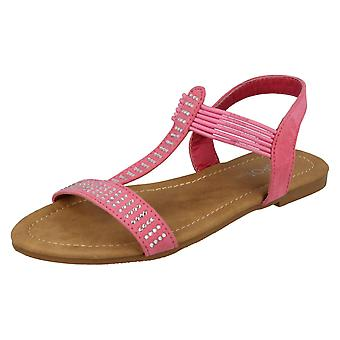 Miejscu dziewczyny na co dzień sandały wsuwane