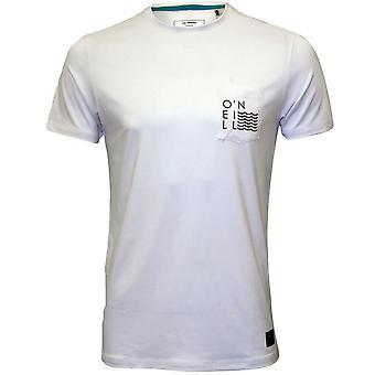 O'Neill Jacks pohja suojakerroin 50 + suorituskyky t-paita, Super valkoinen