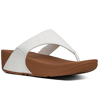 FitFlop™ Lulu Leather Womens Toe Post Sandals