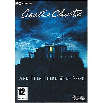 Agatha Christie And Then There Were None (PC CD) - Factory Sealed