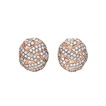 ESPRIT collection ladies earrings silver Rosé Lílaia ELER92582B000