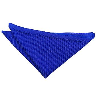 Royal Blue Knitted Pocket Square