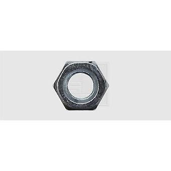 SWG Hexagonal nut M8 DIN 934 Steel zinc plated 100 pc(s)