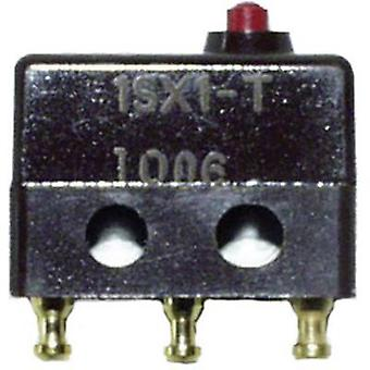Honeywell AIDC Microswitch 1SX1-T 250 V AC 7 A 1 x On/(On) kortstondige 1 PC('s)
