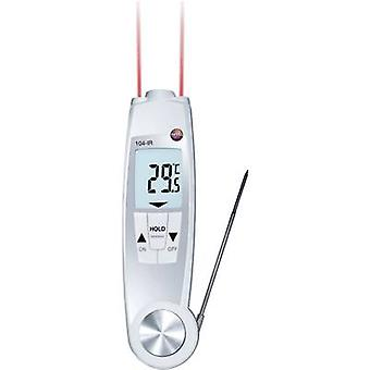 testo 104-IR Probe thermometer (HACCP) Temperature reading range -50 up to 250 °C Sensor type NTC Complies with HACCP standards, Non-contact IR reading